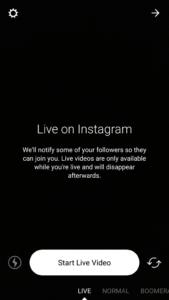 Instagram Go Live