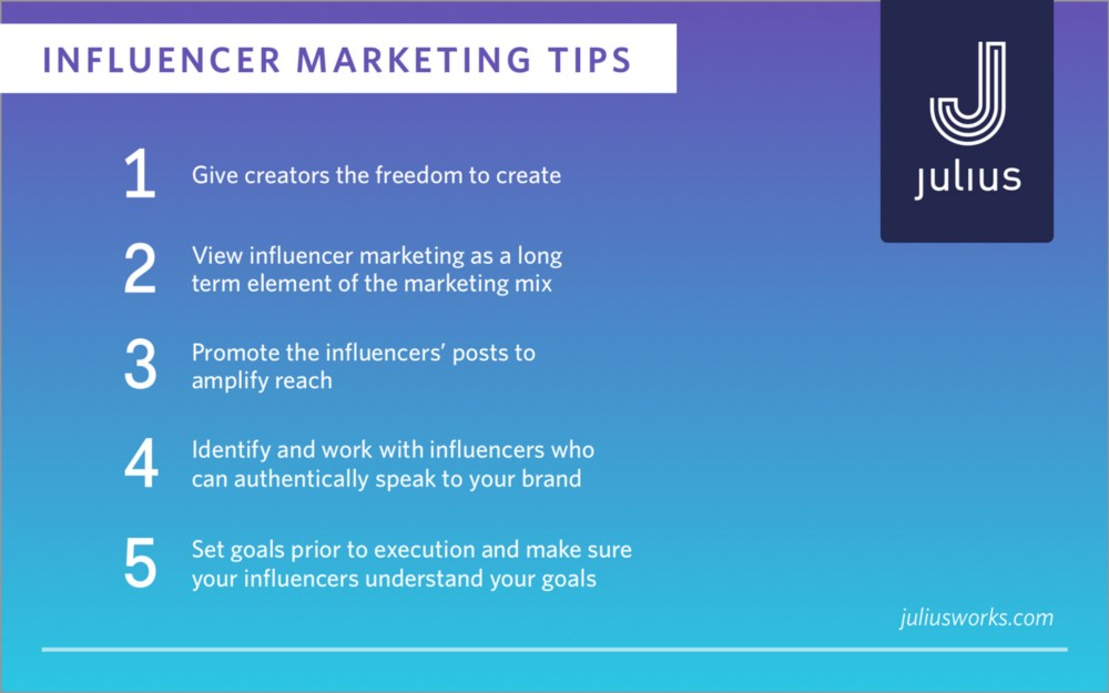 Influencer Marketing Tipps