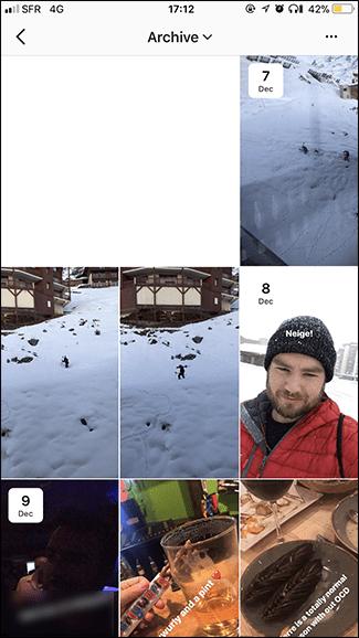 Wie Sie Ihre archivierten Instagram Storys anzeigen, freigeben, hervorheben und herunterladen können.